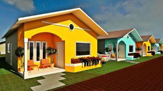 Porcellana Il bungalow prefabbricato di progettazione professionale si dirige le piccole case modulari moderne fornitore
