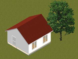Porcellana Il piccolo bungalow prefabbricato della struttura d'acciaio della famiglia si dirige/case prefabbricate contemporanee fornitore
