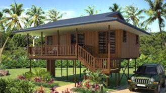 Porcellana il bungalow di legno a prova d'umidità/SAA della Camera di nuova progettazione si dirige i bungalow della spiaggia fornitore