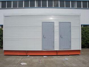 Porcellana Case modulari prefabbricate multifunzionali della struttura d'acciaio per la toilette/ufficio mobili fornitore