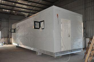 Porcellana Case modulari prefabbricate della struttura d'acciaio, corpo di guardia mobile per vivere della gente fornitore