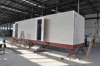 Porcellana Camera mobile prefabbricata della cabina/case modulari prefabbricate struttura d'acciaio per il corpo di guardia fornitore