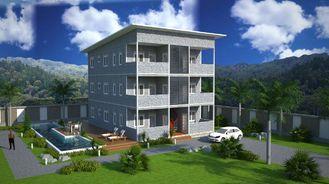 Porcellana Costruzioni di appartamento prefabbricate della struttura d'acciaio di SOHO, appartamenti prefabbricati fornitore