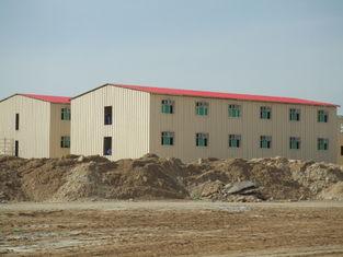 Porcellana Costruzioni commerciali prefabbricate di basso costo/costruzione prefabbricata del metallo Saveing di energia fornitore
