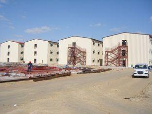 Porcellana Costruzione di appartamento prefabbricata, struttura d'acciaio, edifici per uffici fornitore
