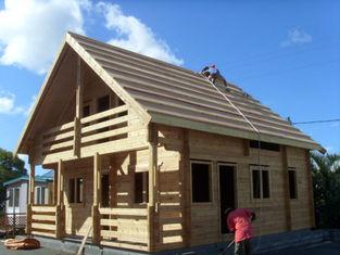 Porcellana Bungalow tropicale di Overwater di ventilazione dell'umidità/Camere di legno fornitore