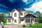 Porcellana La villa prefabbricata d'acciaio del calibro della luce bianca/costruzione prefabbricata architettonica si dirige la norma dell'America fabbrica