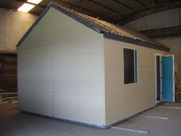 Porcellana Case modulari mobili leggere della struttura d'acciaio/piccola Camera prefabbricata modulare pieghevole distributore
