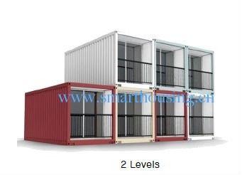 Porcellana Il contenitore prefabbricato modulare di iso 40HQ si dirige, case dei container della prova dell'acqua distributore