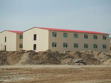 Costruzioni commerciali prefabbricate di basso costo/costruzione prefabbricata del metallo Saveing di energia