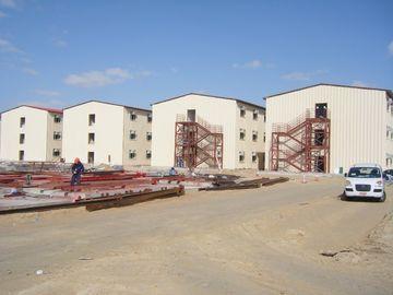 Porcellana Costruzione di appartamento prefabbricata, struttura d'acciaio, edifici per uffici distributore