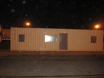 Porcellana Case modulari moderne di ampio Dopo-Disastro, corredi d'acciaio leggeri della casa modulare distributore