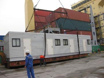 Porcellana L'architetto ha progettato le case modulari/tabernacolo modulare d'acciaio della luce ampio distributore
