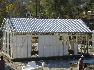 Porcellana Veloce monti la piccola casa prefabbricata della struttura d'acciaio/piano australiano portatile della nonna per vivere distributore