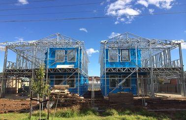 La villa prefabbricata leggera della struttura d'acciaio/rapidamente monta le case prefabbricate/la villa struttura d'acciaio di Lignt