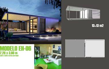 Il bene mobile moderno accenta la casa delle vacanze/ha prefabbricato lo studio del giardino per la vita di festa