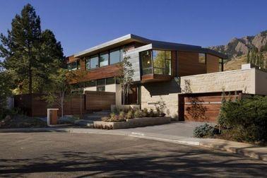 Porcellana La progettazione moderna rapidamente installa le case di legno d'acciaio leggere, alloggio del metallo distributore