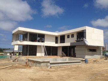 2 la storia, il tetto piano, Uruguay ha prefabbricato la casa d'acciaio leggera, case di legno d'acciaio leggere